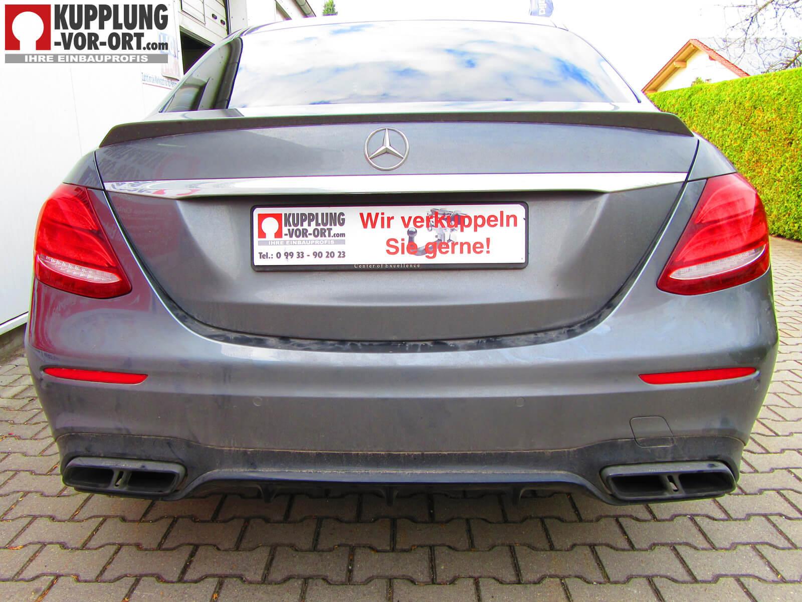 Anhängerkupplung für Mercedes E-Klasse W213 E63 AMG - Kupplung-Vor ...