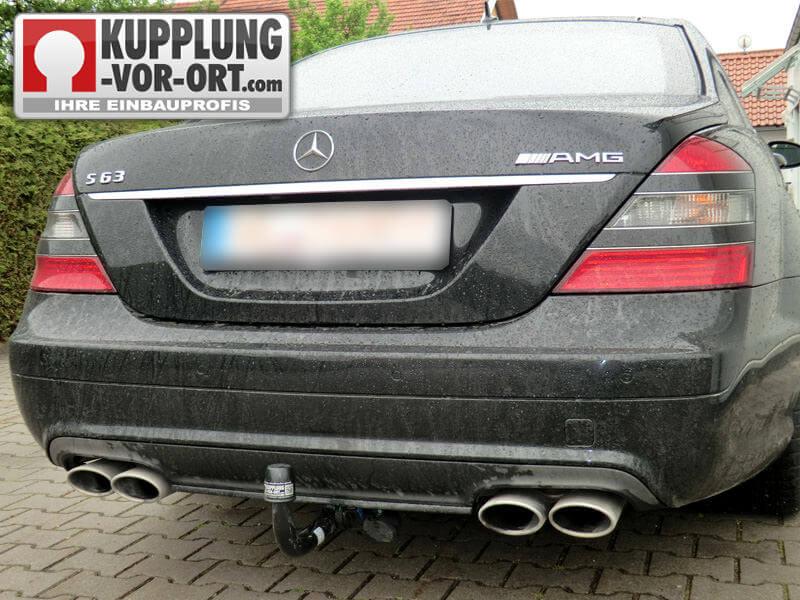 Anhängerkupplung Mercedes AMG | Einbau vom Profi - Kupplung vor Ort ...