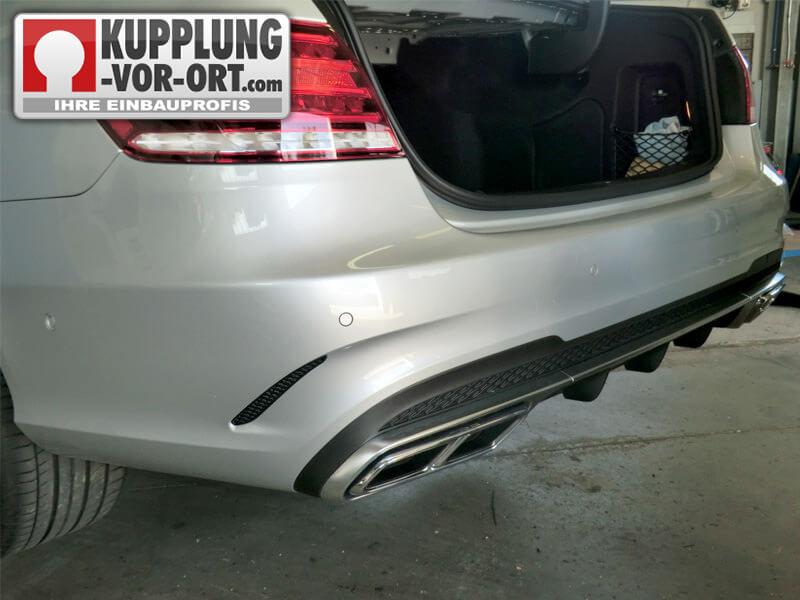 Anhängerkupplung Mercedes | Einbau vom Profi - Kupplung vor Ort ...